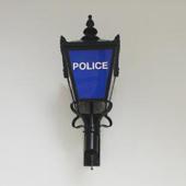 Police station lantern
