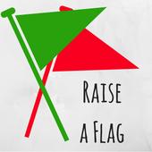 Raise a flag campaign