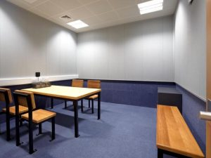 Victim interview room