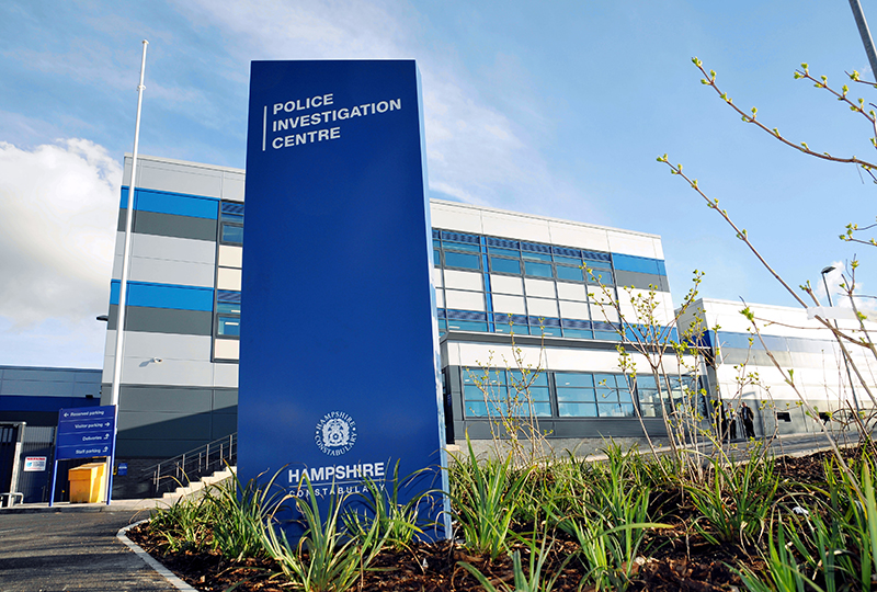 Northern Police Investigation Centre, Basingstoke.