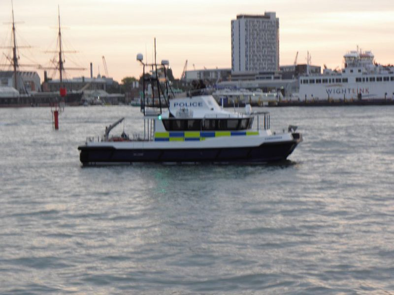 blurry-police-boat