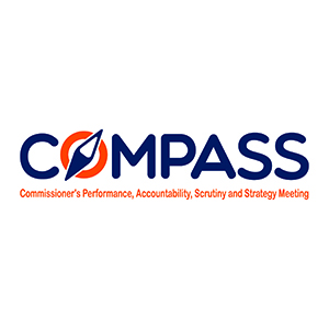 COMPASS logo Commissioner' Performance, Accountability, Scrutiny and Strategy Meeting