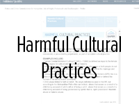 Link to Harmful Cultural Practices dashboard