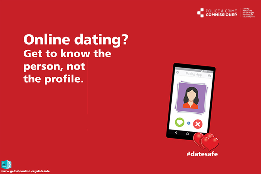 Online dating? Get to know the person, not the profile.