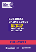 Hate Crime guide for employees