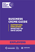 Hate Crime guide for employers