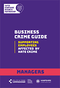 Hate Crime guide for managers