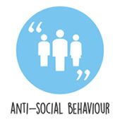 Anti-social behaviour logo