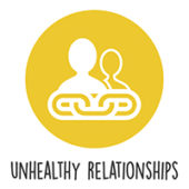 Unhealthy relationships logo