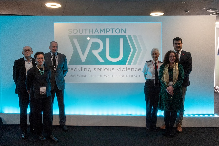 Speakers at the Southampton Violence Reduction Unit event