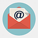 Email newsletter signup button