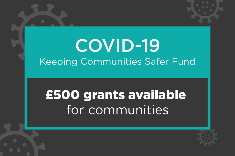 COVID-19 grant funding available for communities