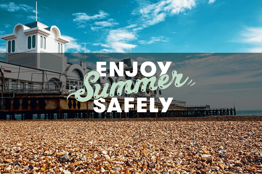 Enjoy summer safely at the beach
