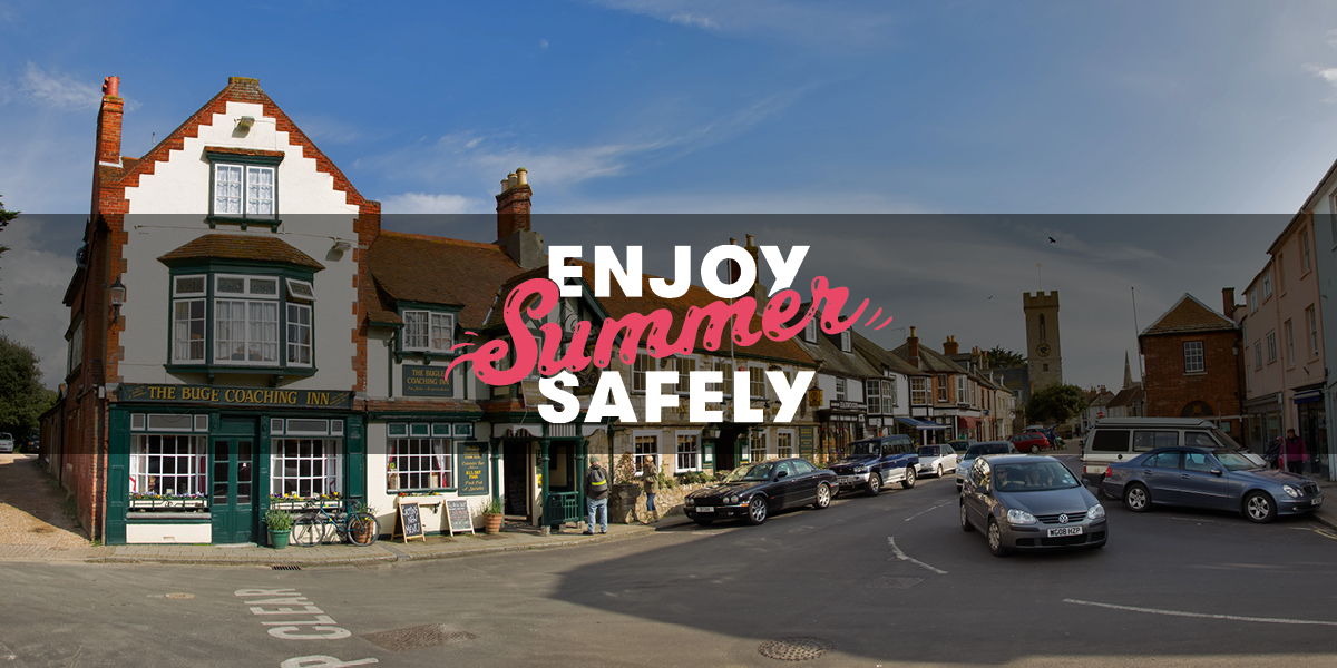 Enjoy Summer Safely on the high street