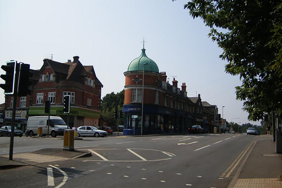Bordon town centre