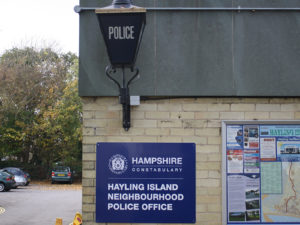 Hayling Island police office refurbishment