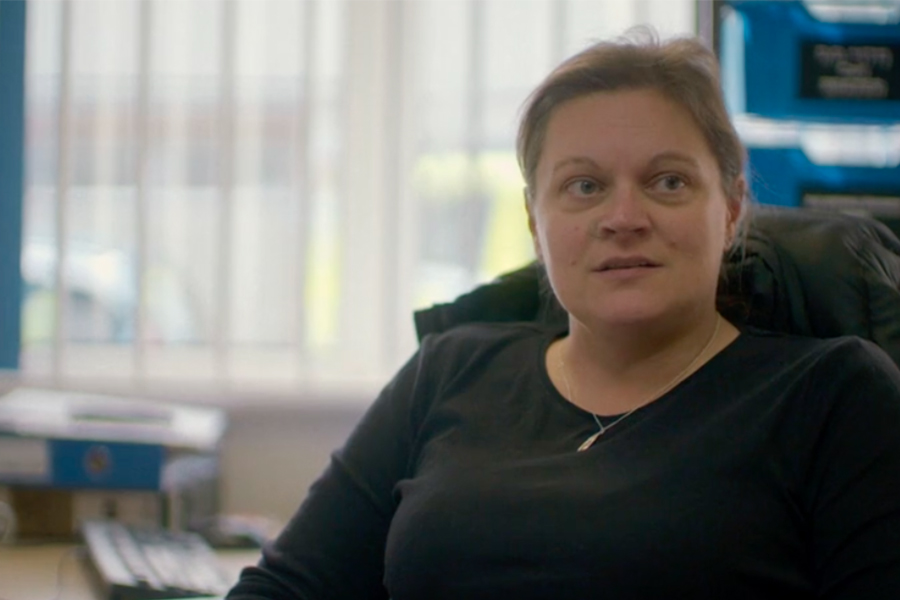 DC Claire Lyons, Hampshire Constabulary