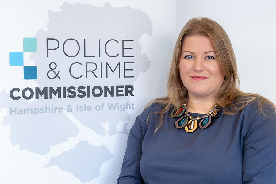 Police & Crime Commissioner Donna Jones